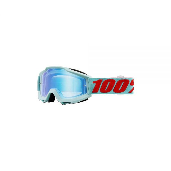 100% Accuri Goggles - Mirror Lens - Maldives - Mirror Blue Flash Lens, Maldives - Mirror Blue Flash Lens