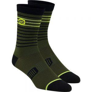 100% Advocate Performance Socks - S/M - Fatigue, Fatigue