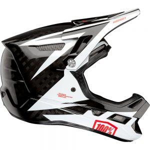 100% Aircraft Carbon MIPS Helmet - L - Rapidbomb-White, Rapidbomb-White