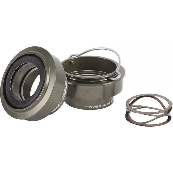 Campagnolo Power Torque BB386 BB86 Cups inc Bearing - 86.5mm - Black, Black