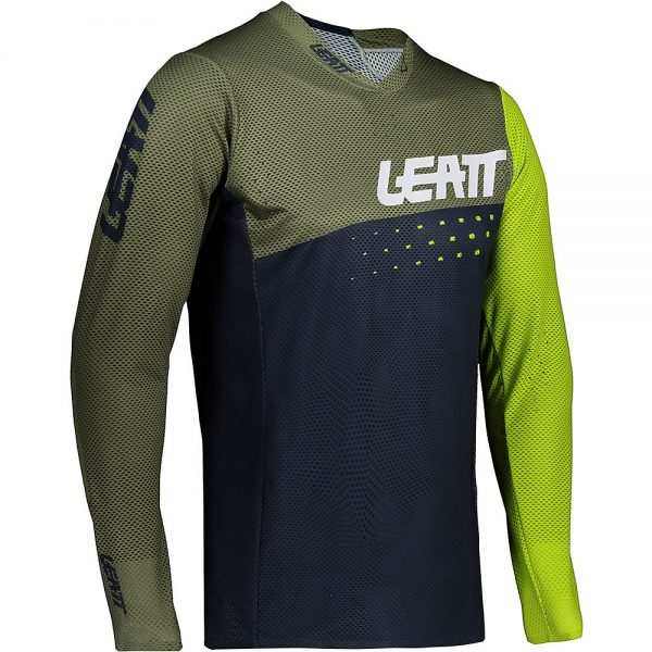 Leatt MTB 4.0 UltraWeld Jersey 2021 - M - Cactus, Cactus