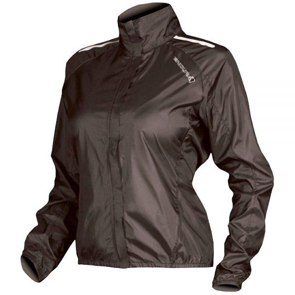 Endura Womens Pakajak Jacket - XL - Black, Black
