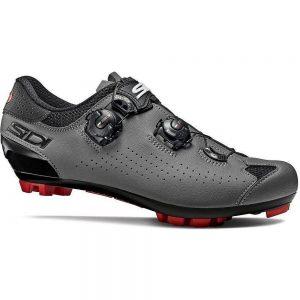 Sidi Eagle 10 MTB Shoes - EU 44.5 - Black-Grey, Black-Grey