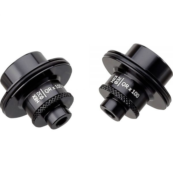 Spank Hex Front Hub Adapter - 20 x 110mm - Black, Black