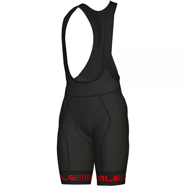 Alé Graphics PRR Strada Bib Shorts - XXL - BLACK-RED, BLACK-RED