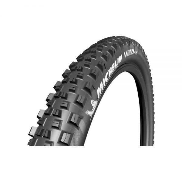 Michelin Wild AM MTB Tyre - Folding Bead - Black, Black