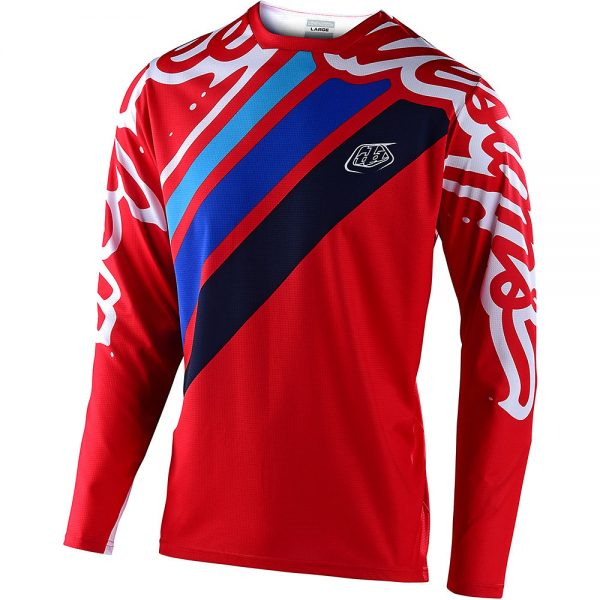 Troy Lee Designs Youth Sprint Jersey Seca 2.0 - XS - Red-Navy, Red-Navy