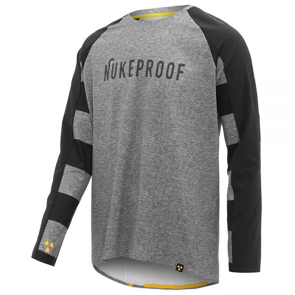 Nukeproof Nirvana Long Sleeve Jersey - XL - Grey, Grey