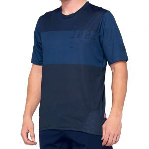 100% Airmatic Jersey - L - Navy-Blue, Navy-Blue