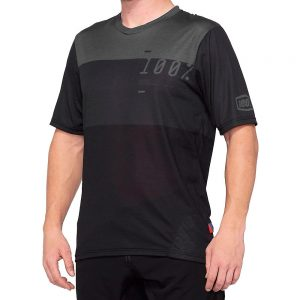 100% Airmatic Jersey - S - grey-black, grey-black