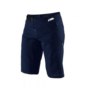 100% Airmatic Shorts - 28 - Navy, Navy