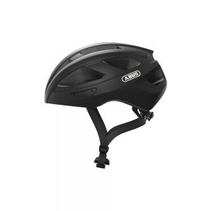 Abus Macator Road Helmet 2020 - L - Black, Black