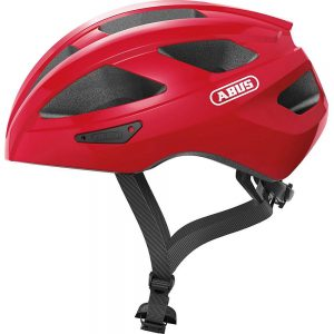 Abus Macator Road Helmet 2020 - L - Red, Red
