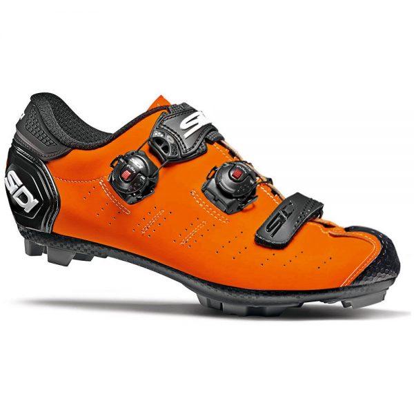 Sidi Dragon 5 SRS Matt MTB Shoes 2019 - EU 45 - Matt Orange-Black, Matt Orange-Black