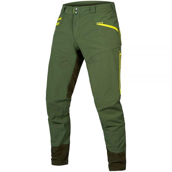 Endura SingleTrack MTB Trousers II 2020 - S - Forest Green, Forest Green