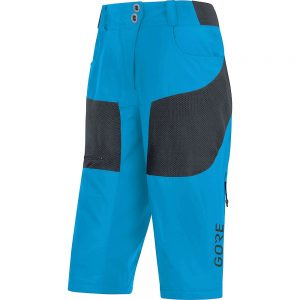 Gore Wear Women's C5 All Mountain Shorts - XS - Dynamic Cyan, Dynamic Cyan