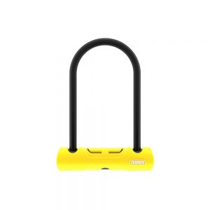 Abus 402 D-Lock - Sold Secure Bronze Rated - Yellow, Yellow