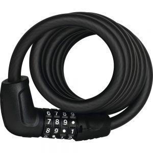 Abus 6512C Tresor Combination Cable Lock - Black, Black