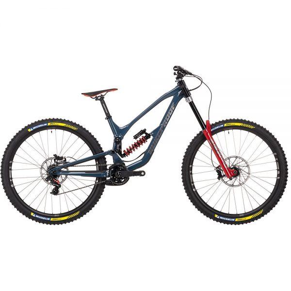 Nukeproof Dissent 290 RS Bike (X01 DH) 2021 - Bottle Blue, Bottle Blue