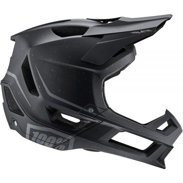 100% Trajecta MTB Helmet 2019 - L - Black, Black