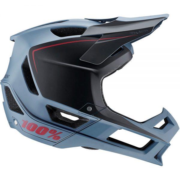 100% Trajecta MTB Helmet 2019 - S - Slate Blue, Slate Blue