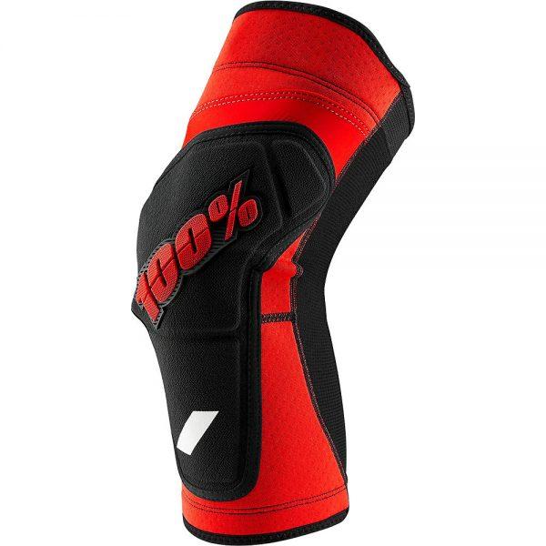 100% RideCamp Knee Guard - M - Red-Black, Red-Black