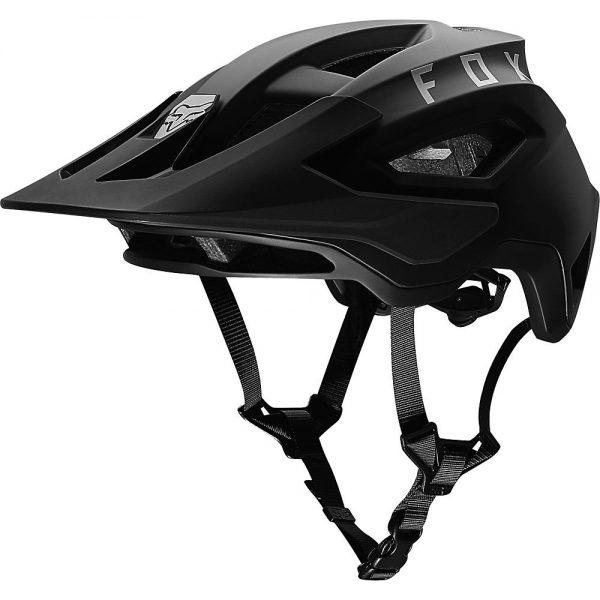 Fox Racing Speedframe MTB Helmet - S - Black, Black