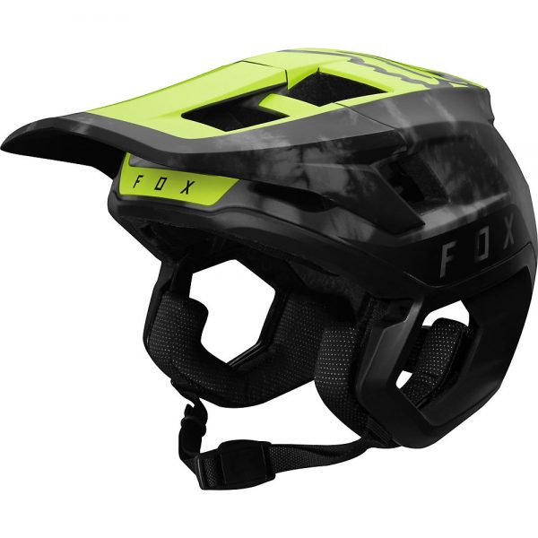 Fox Racing Dropframe Pro MTB Helmet - L - Elevated Day Glo Yellow, Elevated Day Glo Yellow