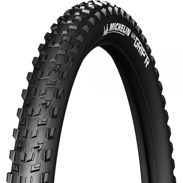 "Michelin Wild Grip'r 650B Folding MTB Tyre - Black - 27.5"" (650b), Black"