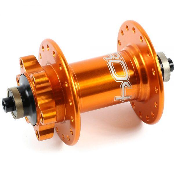 Hope Pro 4 MTB Front Hub - QR Axle - 36h - QR Axle - Orange, Orange
