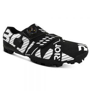 Bont Riot MTB+ (BOA) Cycling Shoe - EU 41 - Matte Black-White, Matte Black-White