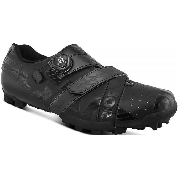 Bont Riot MTB+ (BOA) Cycling Shoe - EU 42 - Black-Blue, Black-Blue