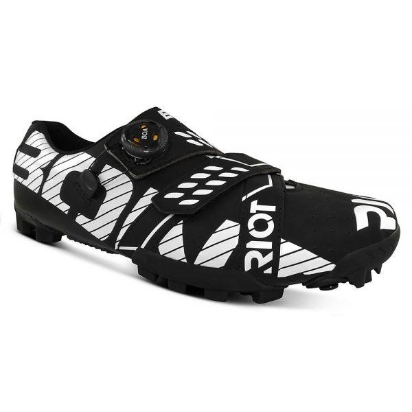 Bont Riot MTB+ (BOA) Cycling Shoe - EU 42 - Matte Black-White, Matte Black-White