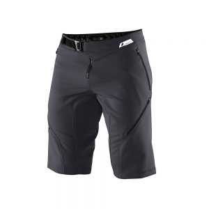 100% Airmatic Shorts - 38 - Charcoal, Charcoal