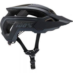 100% Altec Helmet - XS/S - Black, Black