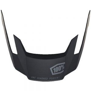 100% Altec Replacement Visor 2019 - L/XL/XXL - Black, Black
