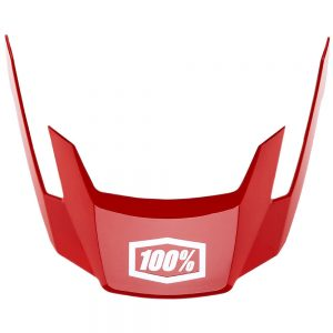 100% Altec Replacement Visor 2019 - XS/S - Red, Red