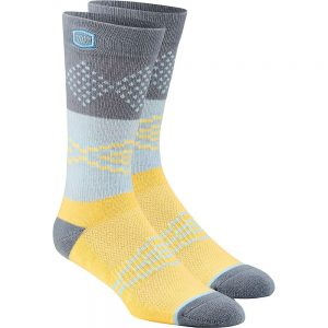 100% Antagonist Casual Socks - S/M - Yellow, Yellow