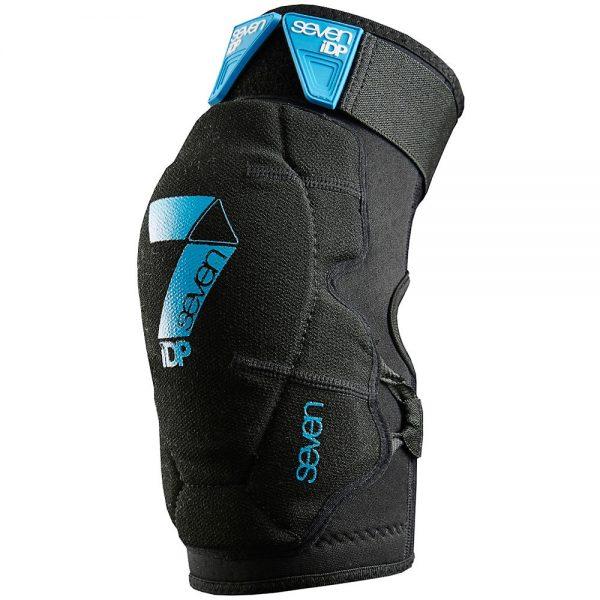 7 iDP Flex Knee Pad - XL - Black, Black