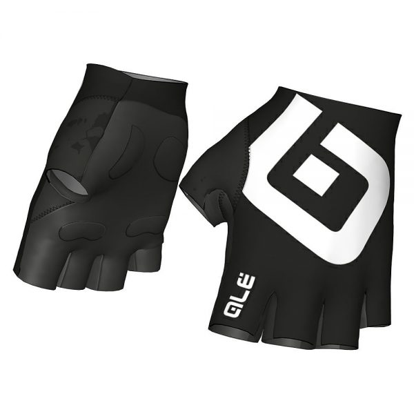 Alé Air Gloves - S - Black-White, Black-White