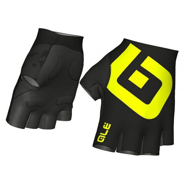 Alé Air Gloves - S - Black-Yellow, Black-Yellow