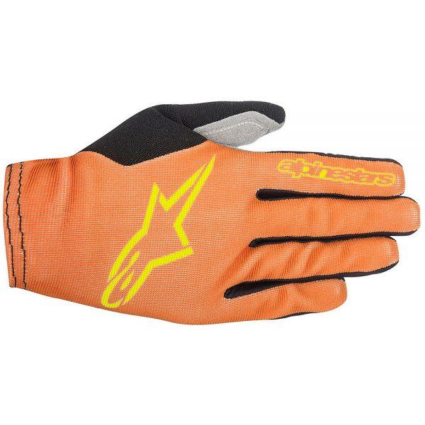 Alpinestars Aero 2 Gloves 2017 - L - Orange-Yellow, Orange-Yellow