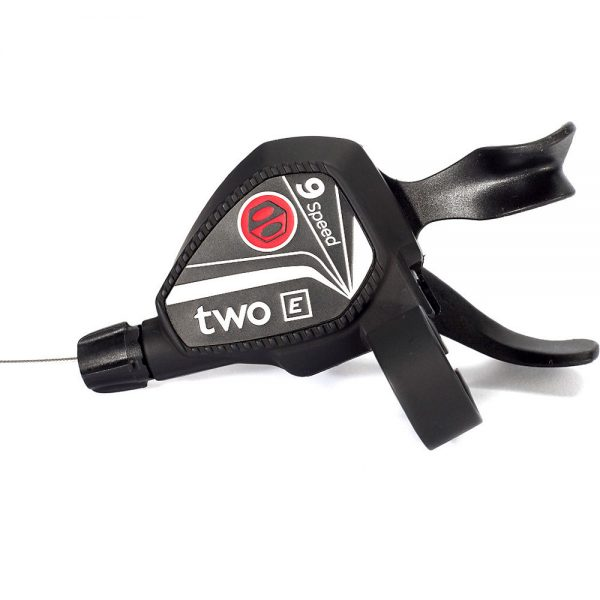 Box Two Twin Lever 9 Speed Shifter - Black, Black