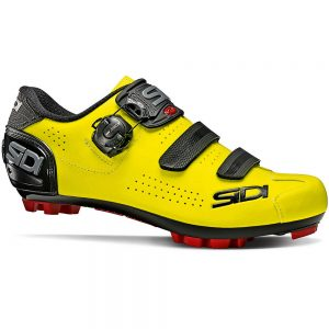 Sidi Trace 2 MTB Shoes - EU 48 - Yellow Fluo-Black, Yellow Fluo-Black
