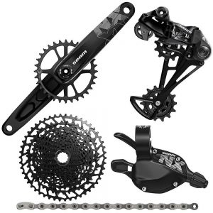 SRAM NX Eagle 12 Speed Mountain Bike Groupset - 11-50t - Black, Black