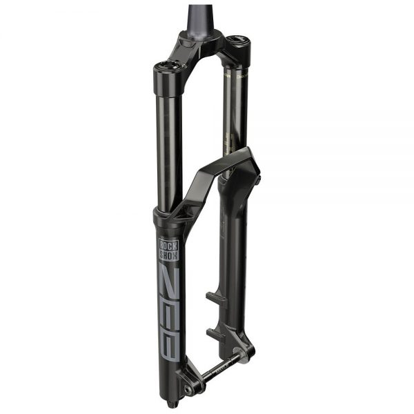 RockShox ZEB Charger R E-MTB Boost DebonAir Forks - 180mm Travel - Black, Black