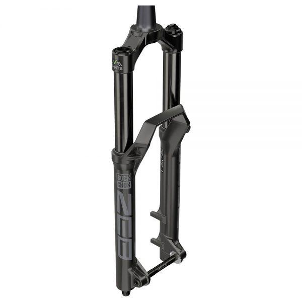 RockShox ZEB Charger R E-MTB Boost Forks - 180mm Travel - Black, Black