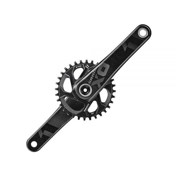 SRAM X01 11sp MTB Chainset - Black - No BB - BB30, Black