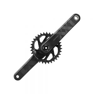 SRAM XX1 Eagle 12sp DM MTB Chainset - DUB - Black, Black