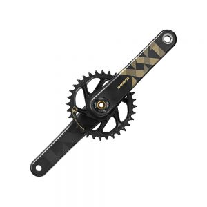 SRAM XX1 Eagle 12sp DM MTB Chainset - DUB - Gold, Gold